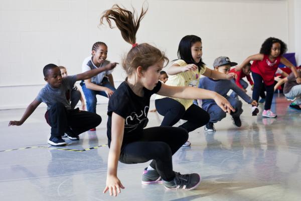 Workshop Kidsdance  Genk.