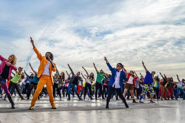 De leukste activiteit met de flashmob workshop i n Genk!